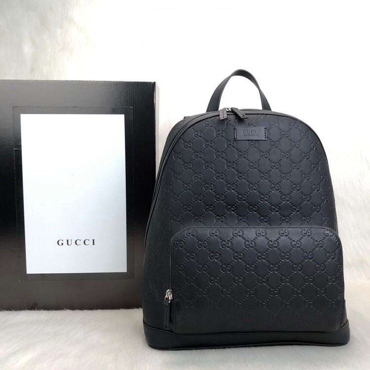 GUCCİ SİGNATURE BACKPACK